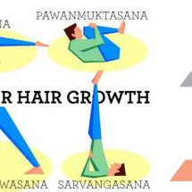 12 Yoga and Pranayama Exercises to Prevent Hair Loss