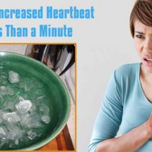 Stop Your Increased Heartbeat in Less Than a Minute
