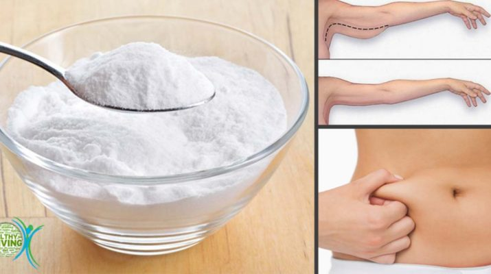 5 Baking Soda Recipes to Lose Fat in the Belly, Arms, Thighs, and Back