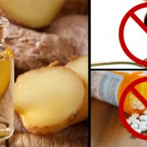 Replace Cough Syrup, Pain Pills, and Antibiotics with This Homemade Ginger Oil