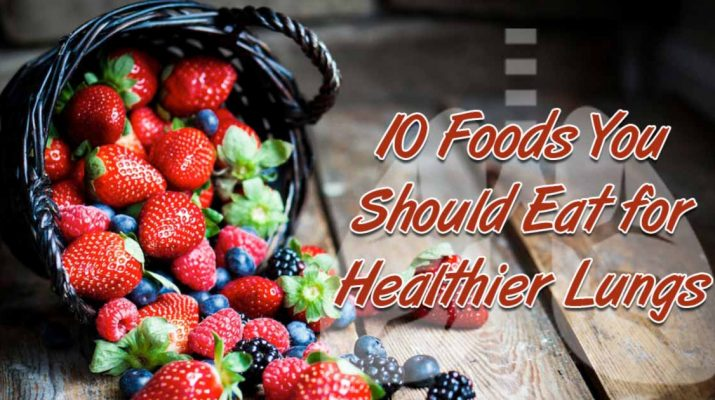 10 Foods to Eat for Healthy Lungs