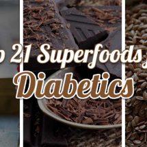 21 Super-Foods For Diabetics