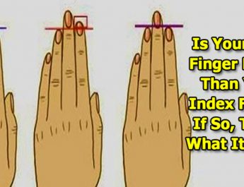 Is Your Ring Finger Longer Than Your Index Finger? If So, This Is What It Means