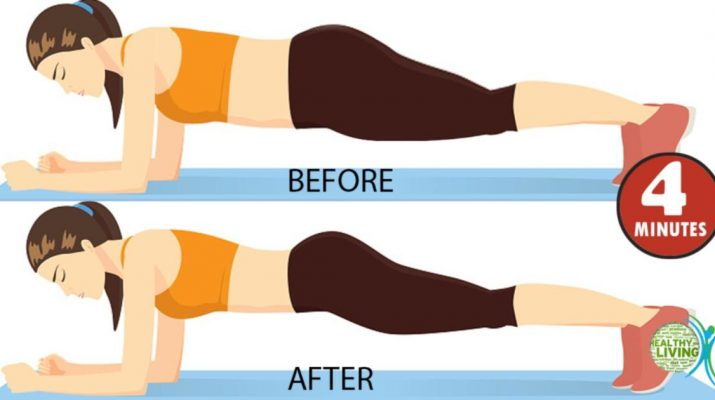 4-Minutes a Day Exercises Give Results in Less Than 30 Days