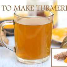 Turmeric Tea Recipe to Relieve Every Pain in Your Body