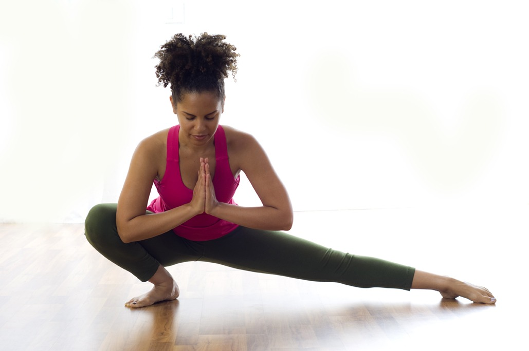 Wide Side Lunge Pose