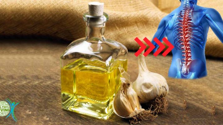 Treat Joint and Back Pain with This Garlic Oil Remedy