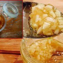 Treat Flu Symptoms with This Garlic Tonic