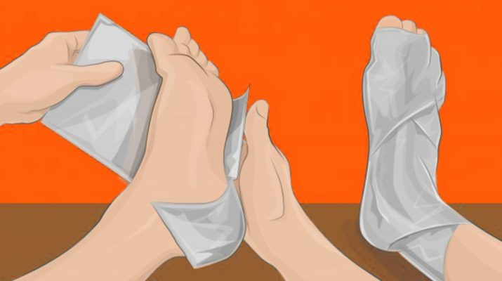 Wrap Your Feet in Aluminum Foil, and You Will Be Amazed by the Results