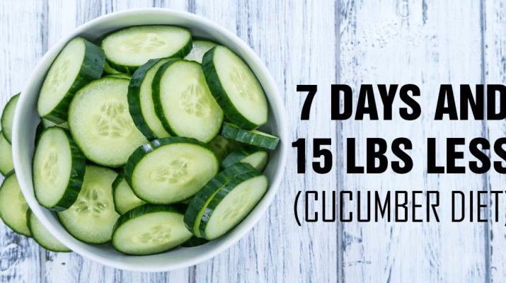Drop 15 Lbs in One Week with the Cucumber Diet