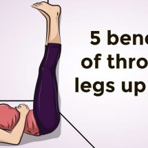 You Can Get These 5 Things From Throwing Your Legs Up A Wall Every Day