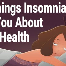10 Things Insomnia Can Tell You About Your Health