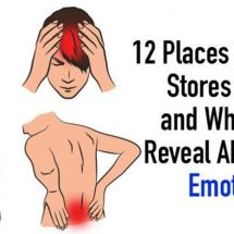 12 Places Your Body Stores Stress and What They Reveal About Your Emotions
