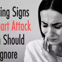 7 Warning Signs of A Heart Attack Women Should Never Ignore