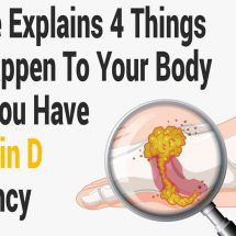 Science Explains 4 Things That Happen To Your Body When You Have a Vitamin D Deficiency