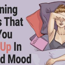 5 Morning Habits That Help You Wake Up In A Good Mood