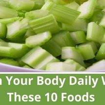 These 10 Foods Will Cleanse Your Body Completely