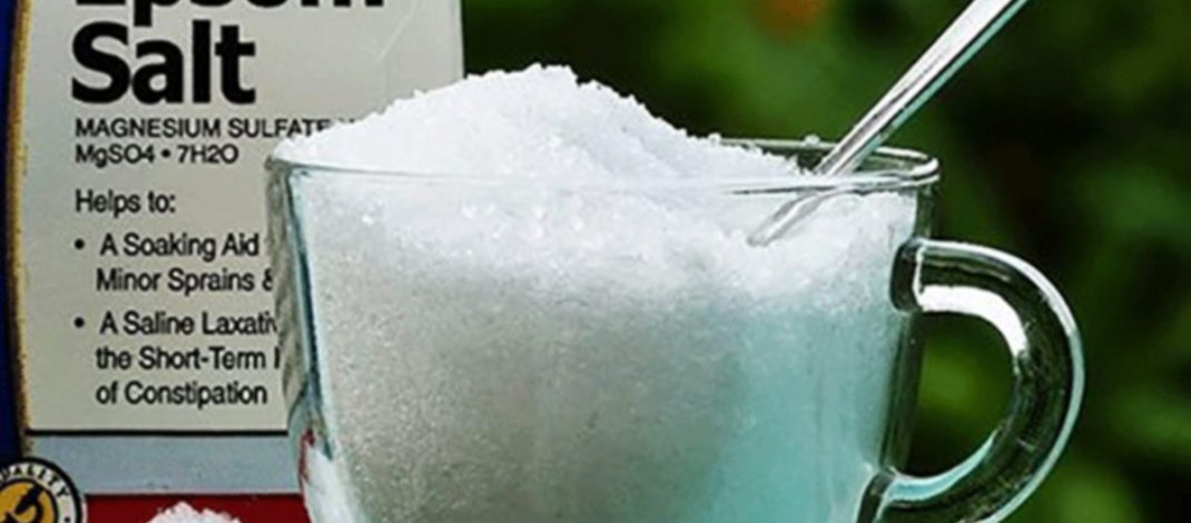 10 Ways How You Can Use Epsom Salt For Internal And External Body Healing