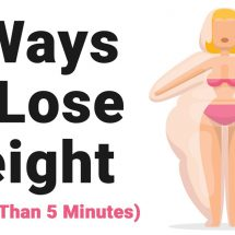 5 Ways to Lose Weight (in Less Than 5 Minutes)