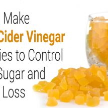 How to Make Apple Cider Vinegar Gummies to Control Blood Sugar and Weight Loss