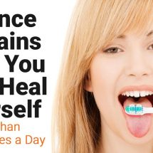 Science Explains How You Can Heal Yourself (In Less Than 10 Minutes a Day)