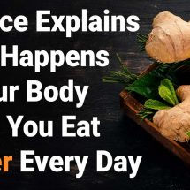 Science Explains What Happens to Your Body When You Eat Ginger Every Day