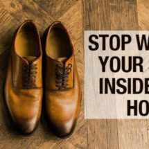 These Are the Gross Reasons Why You Should Never Wear Your Shoes at Home
