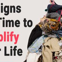 10 Quick & Easy Ways to Simplify Your Life