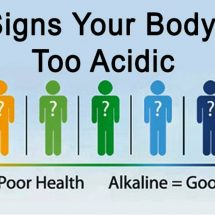 4 Signs Your Body is Too Acidic and How to Fix it
