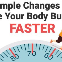 4 Simple Changes That Make Your Body Burn Fat Faster
