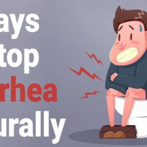 Diarrhea Treatment: 4 Ways to Stop Diarrhea Naturally