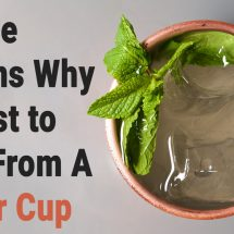 Science Explains Why It's Best to Drink From A Copper Cup