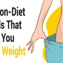10 Non-Diet Foods That Help You Lose Weight
