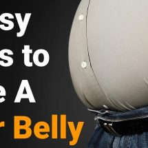 4 Easy Ways to Lose A Beer Belly