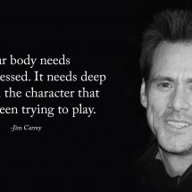 Jim Carrey's Beautiful Message For Anyone With Depression