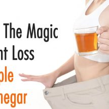Science Explains The Magic of Weight Loss With Apple Cider Vinegar
