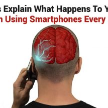 Scientists Explain What Happens To Your Brain From Using Smartphones Every Day