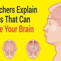 Researchers Explain 5 Habits That Can Damage Your Brain