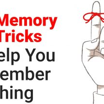 5 Memory Tricks to Help You Remember Anything