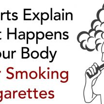 Experts Explain What Happens to Your Body After Smoking E-Cigarettes
