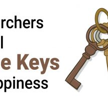 Researchers Reveal The Three Keys to Happiness