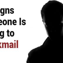10 Signs Someone Is Trying to Blackmail You