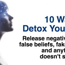 10 Ways to Detox Your Soul