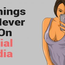 7 Things to Never Do On Social Media