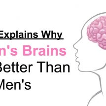 Science Explains Why Women's Brains Work Better Than Men's