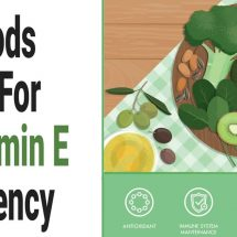 10 Foods to Eat For A Vitamin E Deficiency
