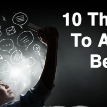 10 Things To Avoid Before Bed