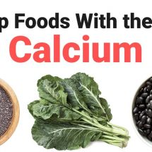 10 Top Foods With the Most Calcium