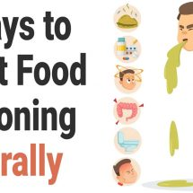 8 Ways to Treat Food Poisoning Naturally