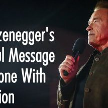 Arnold Schwarzenegger's Beautiful Message For Anyone With Depression